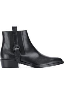 Toga Virilis Ankle Boot Clássica - Preto