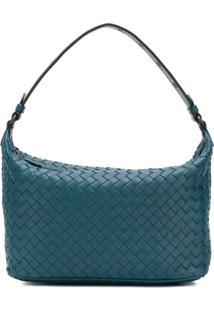 d6d983353 ... Bottega Veneta Bolsa Tote 'Intrecciato' De Couro - Azul