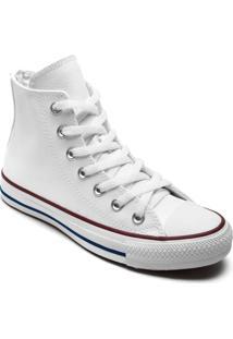 Tênis Converse All Star Chuck Taylor New Malden Hi Branco Vermelho Ct04510001 - Tricae