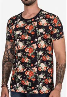 Camiseta Floral 102671