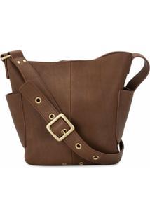 Agnès B. Rivet Detail Cross-Body Bag - Marrom