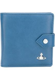 Vivienne Westwood Carteira De Couro Com Logo - Azul