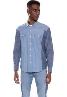 Camisa Jeans Levis Classic Modern Western Side - L