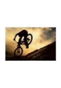 Painel Adesivo De Parede - Bicicleta - 125Pn-G