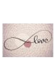 Painel Adesivo De Parede - Amor - Love - 1418Pnm