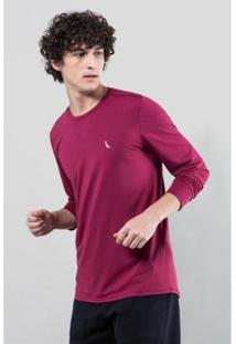 Camiseta Ml Esporte Inverno 17 Reserva Masculina - Masculino-Bordô