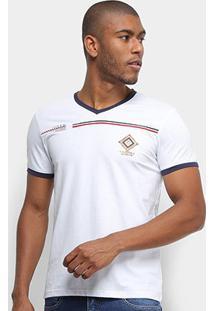 Camiseta Eagle Rock Manga Curta Masculina - Masculino-Branco