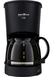 Cafeteira Preto Britânia 220V Cp28