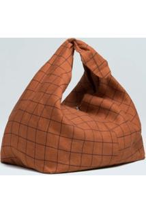 Bolsa Knot Grid-Terra/Preto - Un