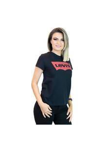 Camiseta Feminina Levis Logo Batwing Classic (Lb0010209)