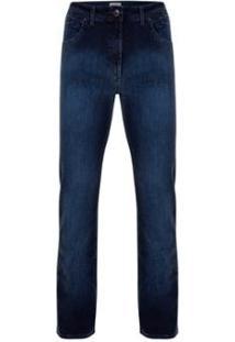 Calça Pierre Cardin Jeans Índigo Masculina - Masculino-Marinho