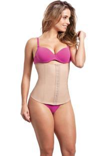 Kit Com 10 Cintas Modeladoras Feminina - Esbelt - Ref. 404 - Bege