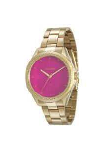 Relógio Analógico Mondaine Feminino - 53538Lpmvde4 Dourado