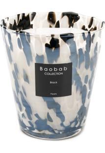 Baobab Collection Vela Aromática Black Pearl - Branco