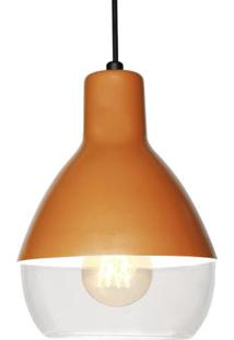 Luminária Pendente Taschibra Baloon, Cobre, 18051