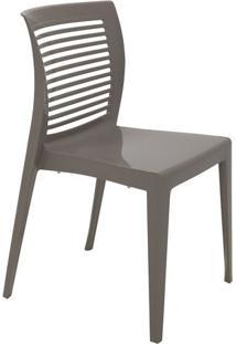 Cadeira Victoria- Cinza Escuro- 82,5X49X54,5Cm- Tramontina