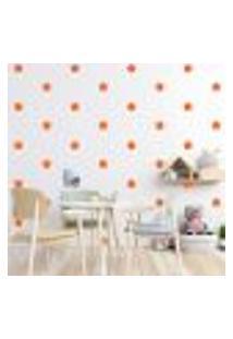 Adesivo Decorativo De Parede - Kit Com 60 Flores - 013Kad09