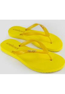 Sandália Candy Colors Amarela
