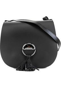 Bolsa Petite Jolie Saddle Bag Feminina - Feminino-Preto