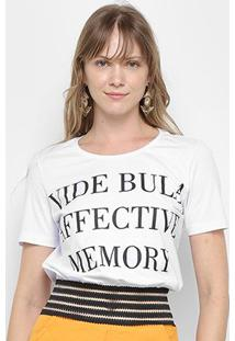 Camiseta Vide Bula Barra Feminina - Feminino