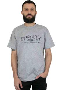 Camiseta Ventura Perfect Trick Cinza Mescla