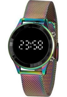 Relógio Lince Feminino Styles Digital - Feminino-Roxo