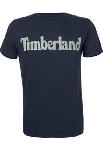 Camiseta Timberland Masculina Ss Kenn - Masculino-Marinho