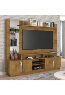 Estante Para Home Theater E Tv 60 Polegadas Munique Mel 200 Cm