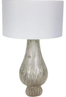 Abajur De Sala De Cristal Murano D'Labone - Transparente 50Cm - Incolor - Dafiti
