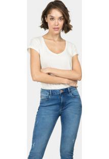 Calça Sirena Flat Belly Duo Core Jeans - Lez A Lez