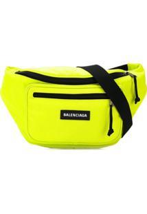 Balenciaga Pochete Explorer - Amarelo