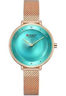 Relógio Curren Analógico C9029L - Feminino