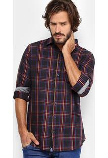 Camisa Xadrez Triton Color Masculina - Masculino
