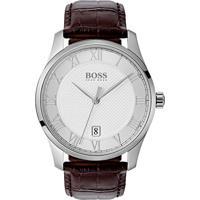 073bcb39f7c Relógio Hugo Boss Masculino Couro Marrom - 1513586