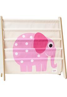 Rack Para Livros 3 Sprouts Elefante Bege