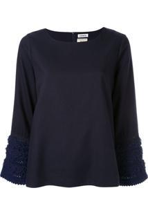 Coohem Blusa De Tweed - Azul