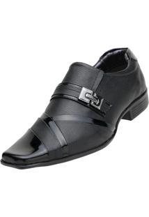 Sapato Social Venetto Verniz - Masculino