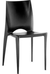 Cadeira Pp Daiane-Rivatti - Preto
