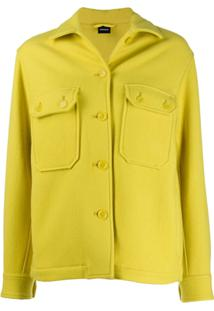 Aspesi Fitted Wool Jacket - Amarelo
