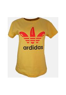 T-Shirt Ardidas Amarelo