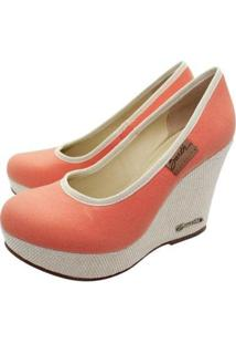 Scarpin Barth Shoes Land - Feminino-Laranja