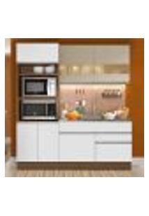 Cozinha Compacta Madesa Helen 6 Portas 2 Gavetas (Sem Tampo E Pia)