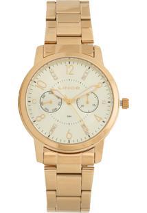 Relógio Lince Lmgj070L-C2Kx Dourado