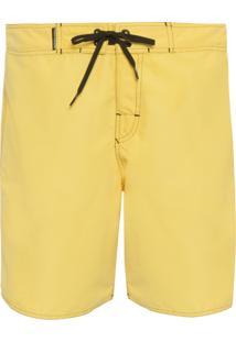 Bermuda Surf Cadarço - Amarelo
