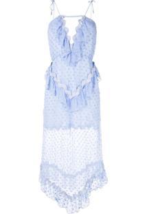 Alice Mccall Vestido Wonders Com Babados - Azul