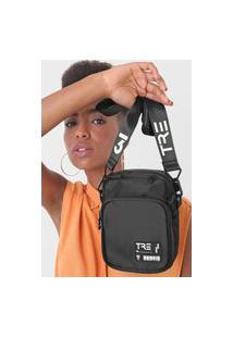 Bolsa Tre 3 Jenny Shoulder Bag Preta