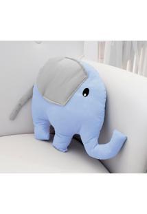 Enfeite Elefante Azul - Azul - Dafiti