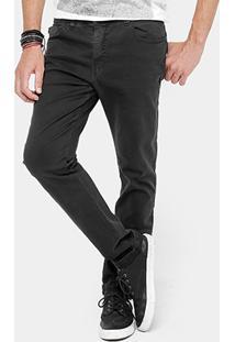 Calça Jeans Ellus Classic Reta Black Stone Masculina - Masculino