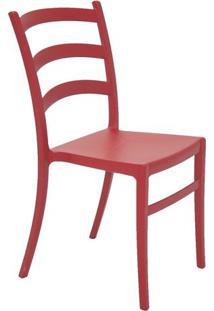 Cadeira Nadia- Vermelha- 85,5X44,5X52Cm- Tramonttramontina