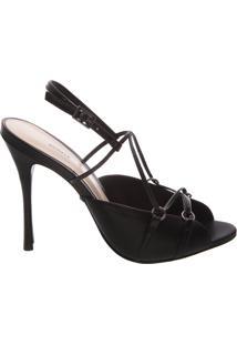 Sandália Thin Stiletto Black | Schutz